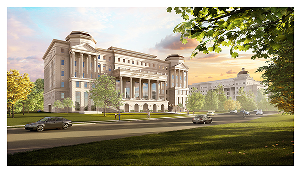 Early Facility Rendering Demonstrates Belmont's Ambitious Goals for New Frist College of Medicine