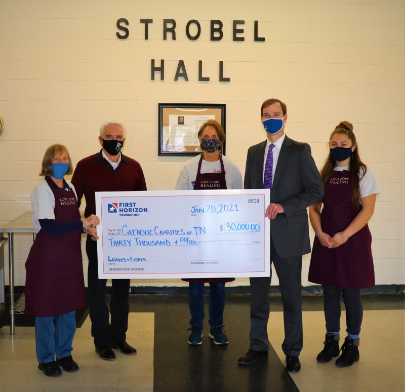 First Horizon Foundation Donates Nearly $150,000 to Support Organizations Providing Meals to Middle Tennesseans