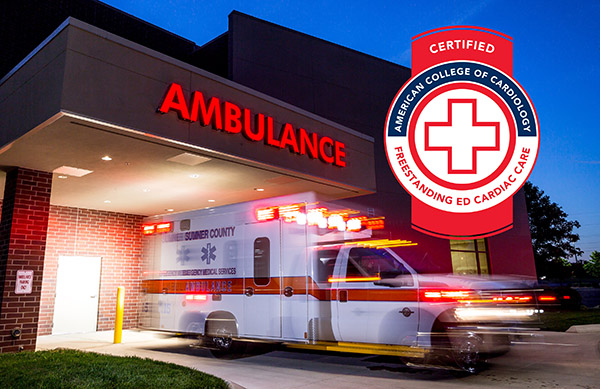 Sumner Station Emergency Department Recognized for Excellence with Cardiac Care Certification