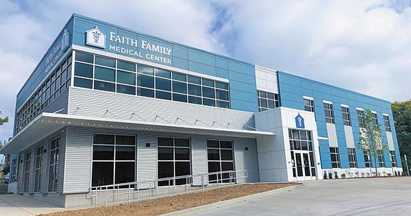 Faith Family Cuts Ribbon on New Facility