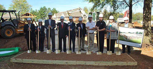 Adamsplace Breaks Ground On New Memory Care Center