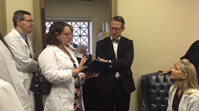Doctors' Day on the Hill Draws Record Crowd