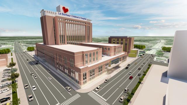 Le Bonheur Children's Hospital Announces Major Expansion