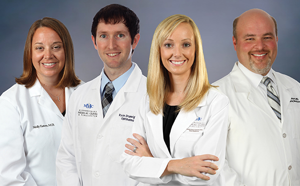 MMC Welcomes Four New Physicians