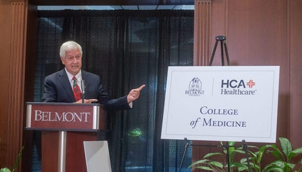 Belmont, HCA Unveil Plans for New Medical School