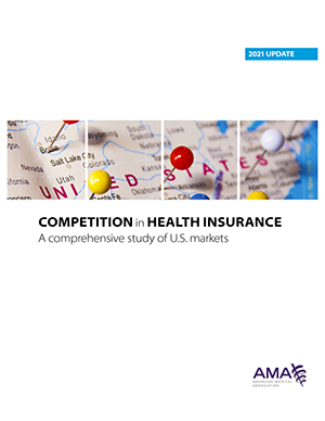 AMA Publishes New Study Monitoring Competition in U.S. Health Insurance Markets