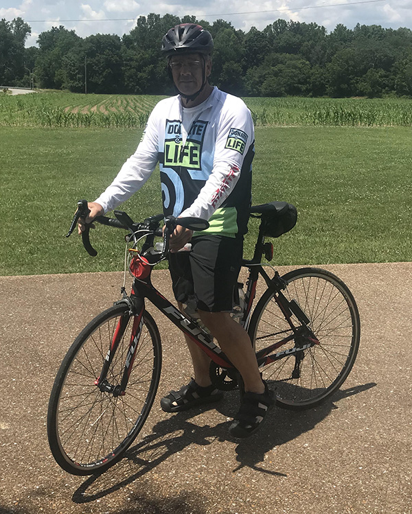 Heart Transplant Recipient to Bike 120 Miles for Multiple Sclerosis