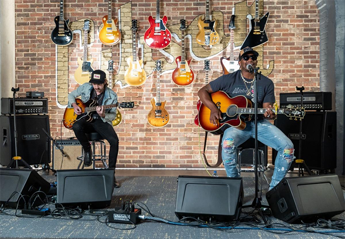 Ryan Seacrest Foundation and Gibson Gives Present - The Nashville Sessions -With Jimmie Allen, Lauren Alaina, and Jillian Jacqueline
