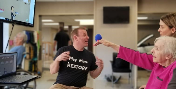 NEW LAUNCH: RESTORE-Together Multi-Player Games Take On Nursing Home Visitation Difficulties