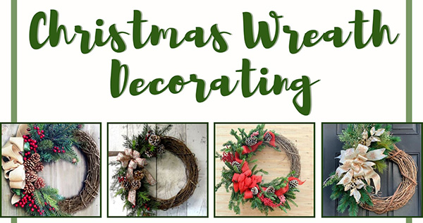 Dec. 2: Christmas Wreath Decorating Event Planned to Raise Funds for the Children's Organ Transplant Association