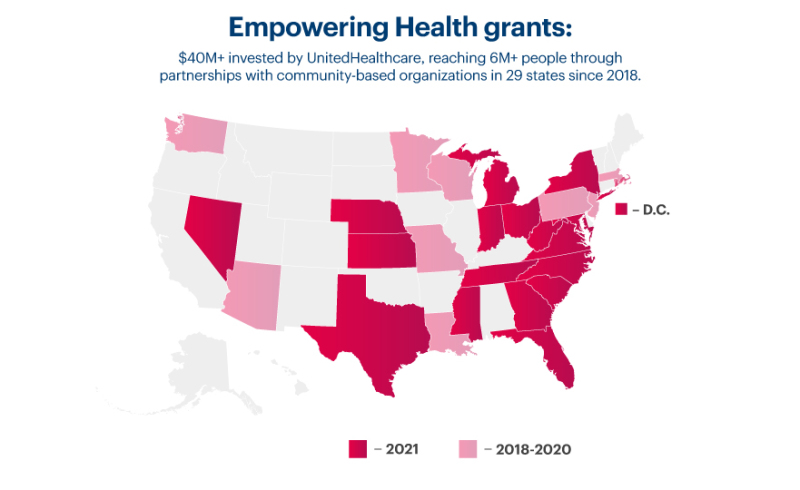 UnitedHealthcare Donates $300,000 to Nonprofits in Tennessee
