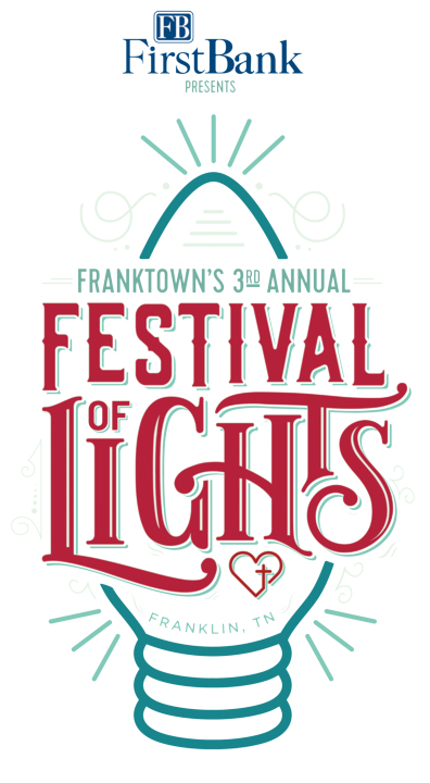 FRANKTOWN FESTIVAL OF LIGHTS, PRESENTED BY FIRST BANK, RETURNS FOR THE 2020 HOLIDAY SEASON