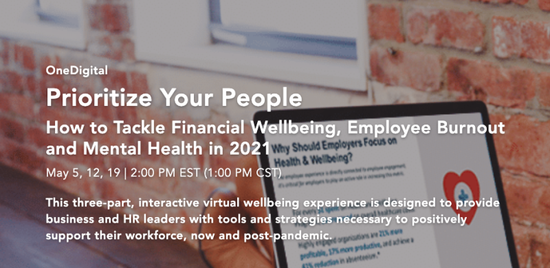 Annual Onedigital Wellbeing Conference Goes Virtual