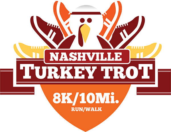 November 28: The Nashville Turkey Trot 8 mile & 10K is back this year